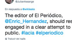 El rotundo tuit de Assange: