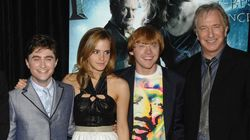 Los actores de Harry Potter se despiden de Alan