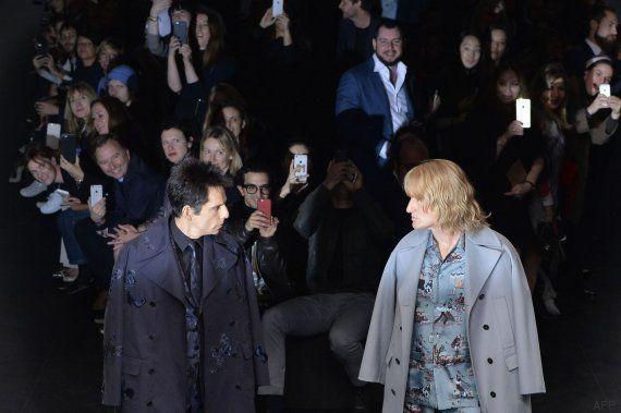 'Zoolander 2' en la pasarela: la aparición sorpresa de Ben Stiller y Owen Wilson en el desfile de Valentino
