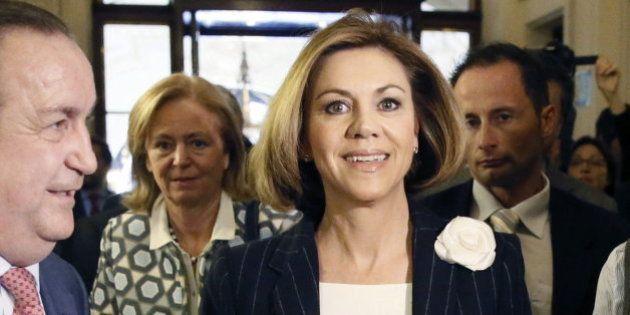 Cospedal reconoce la posibilidad de dejar la Secretaría General del PP si gana en Castilla-La