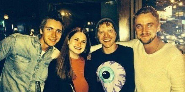 La gran reunión de los actores de 'Harry Potter': de hermanos, amigos y