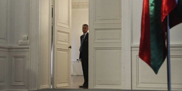 El lehendakari, Íñigo Urkullu, momentos antes de la rueda de prensa que ofreció el pasado día 29 en San...