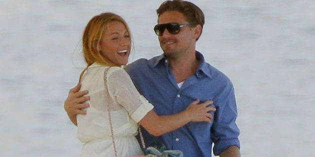 Leonardo DiCaprioy Blake Lively en Cannes en