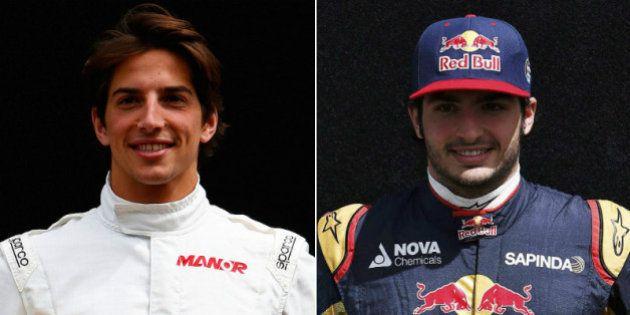 Carlos Sainz y Roberto Merhi, los otros dos españoles en la Fórmula