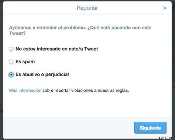 Twitter ya permite denunciar las fotos y vídeos íntimos difundidos sin