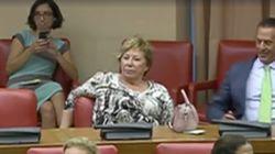 Celia Villalobos hace una de las suyas en el Congreso y en Twitter se lo hacen
