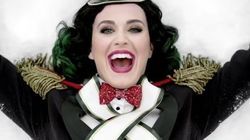 Katy Perry se viste de hada para el primer villancico de