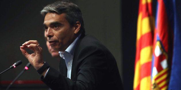 El director de deportes profesionales del FC Barcelona, Albert