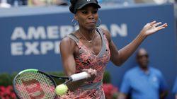 El saque viral de Venus Williams que golpeó a un