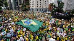 Más de un millón de brasileños se manifiestan contra