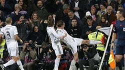Bale se enrabieta, Cristiano se frustra y Ramos pone