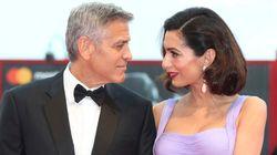 Los Clooney maravillan en su primera alfombra roja tras ser
