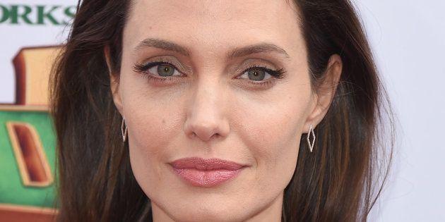La actriz Angelina Jolie, en una imagen del 16 de enero de 2016 en Los