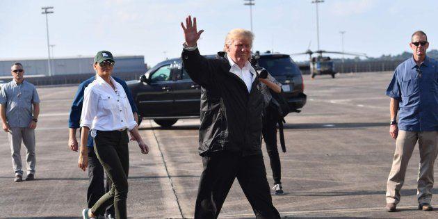 El presidente de EEUU, Donald Trump, el pasado sábado en
