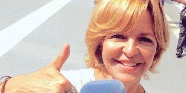 Imagen de archivo de la periodista de TVE, Almudena