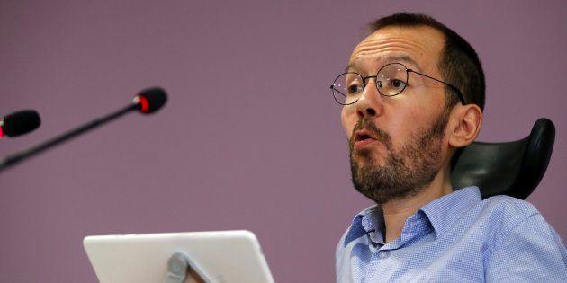 Imagen de archivo de Pablo Echenique, secretario general de Podemos