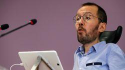 Pablo Echenique dejará su escaño en Aragón