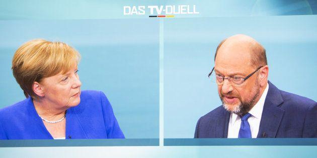 Merkel vence a Schulz en el debate televisado de cara a las elecciones de septiembre, según dos