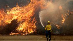 Los Ángeles se enfrenta al mayor incendio de su
