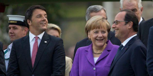 Francia, Alemania e Italia se unirán al banco de desarrollo respaldado por