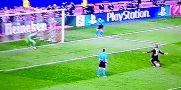 El penalti con el que el Atleti se ha clasificado para cuartos ante el
