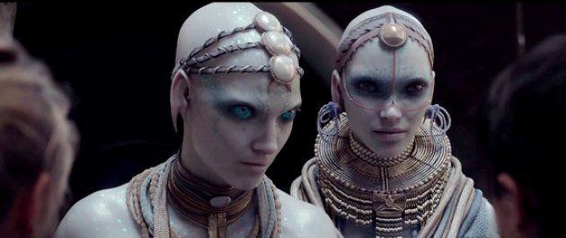 Reminiscencias masái en el emperador Haban-Limaï y la emperatriz Aloï, extraterrestres en 'Valerian y...