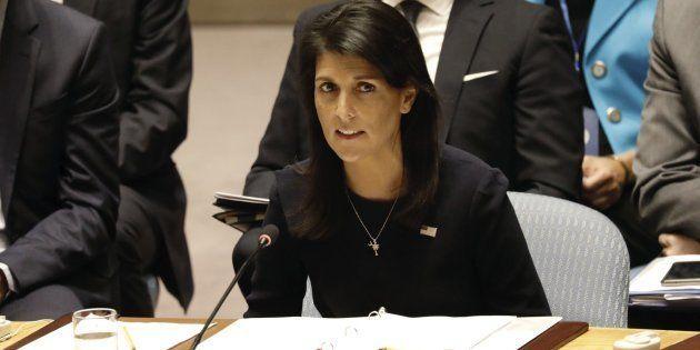 La embajadora de EEUU ante Naciones Unidas, Nikki