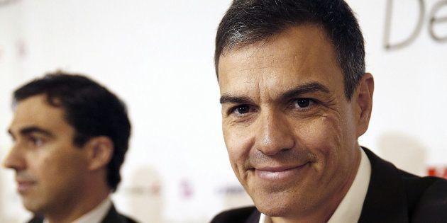 El secretario general del PSOE, Pedro