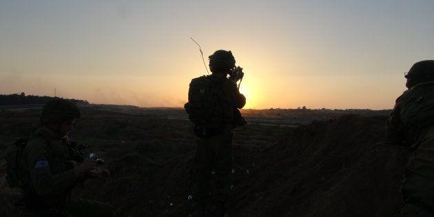 Un soldado israelí, en una imagen de