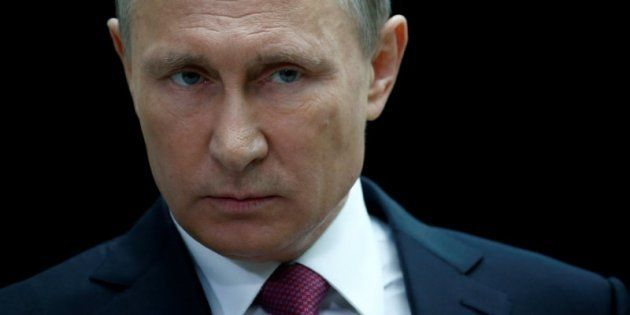 Vladimir Putin, el presidente de Rusia, durante un encuentro con periodistas en Moscú, el pasado 15 de