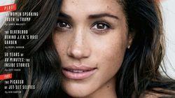 Meghan Markle, novia del príncipe Enrique, protagoniza la portada de 'Vanity