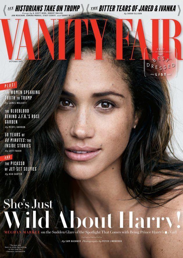 Meghan Markle en su primera portada para el 'Vanity