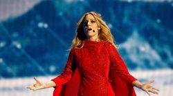 Así fue la actuación de Edurne en Eurovisión 2015 (VÍDEO, FOTOS,