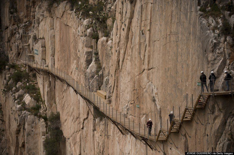 Caminito del Rey, el sendero más peligroso del mundo, reabrirá la próxima