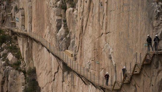 Reabierto el sendero más peligroso del mundo... ¡y está en España!