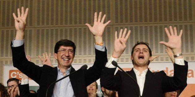 El fenómeno de los Ciudadanos andaluces: 9 escaños y más de 2.000