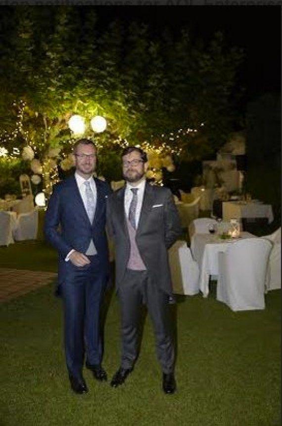 Así fue la boda de Maroto con su novio
