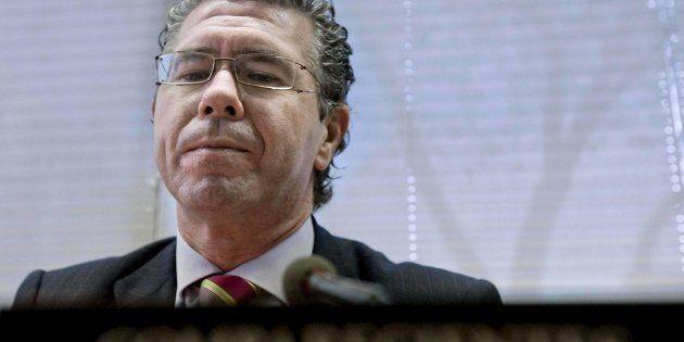 El exconsejero de Presidencia de la Comunidad de Madrid por el PP, Francisco Granados, cuando ocupaba...