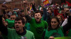 Miles de personas en las Marchas de la Dignidad: