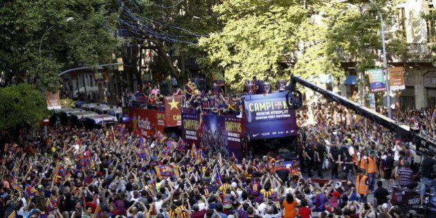El Barcelona ya comparte con sus aficionados la Quinta Champions