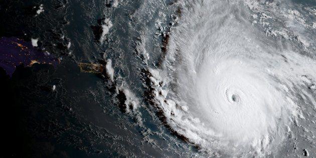 Irma, sobre el