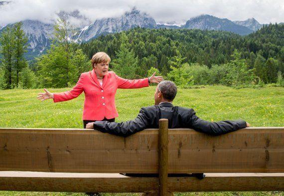 Obama y Merkel, a Grecia: