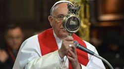 ¿Milagro o no tanto? La sangre de san Genaro se licua ante el papa