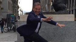 El salto de Carmona que 'triunfa' en las redes