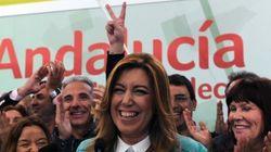 Susana Díaz resiste la fuerza de los nuevos y los novísimos en