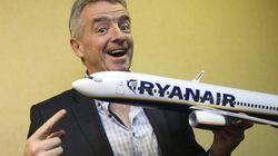 Ryanair sólo permitirá llevar maletas en cabina a los que paguen el