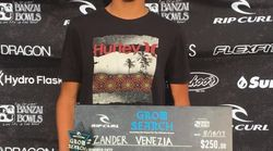 Muere a los 16 años la promesa del surf Zander