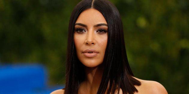 Kim Kardashian en la gala del Met en Nueva York, celebrada en mayo de