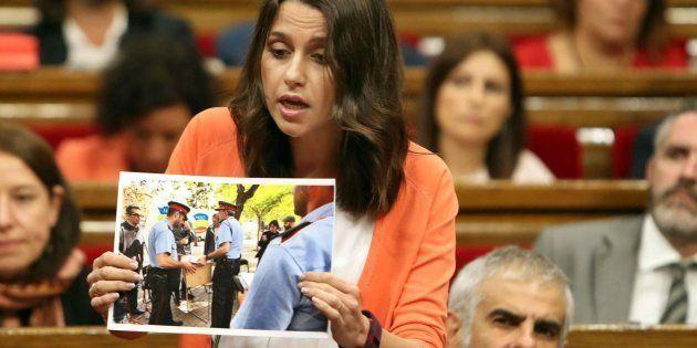 Arrimadas anuncia una moción de censura para convocar