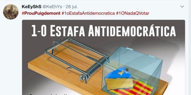 Twitter clama #ProuPuigdemont (#Basta
